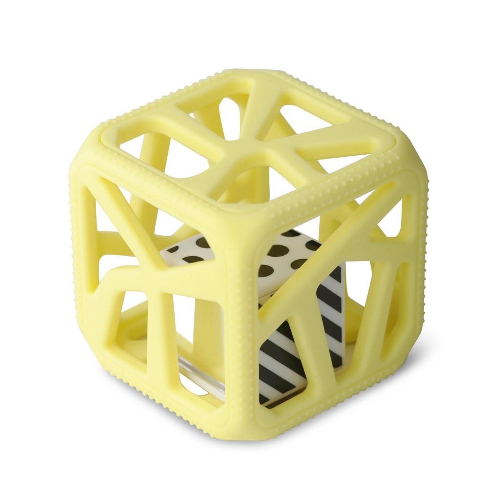 Image of Malarkey Kids Chew Cube - Yellow