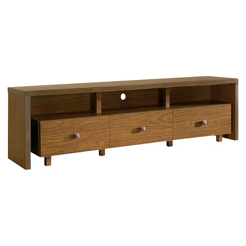 Tv stand with 3 drawer 70 techni mobili target for Center mobili outlet