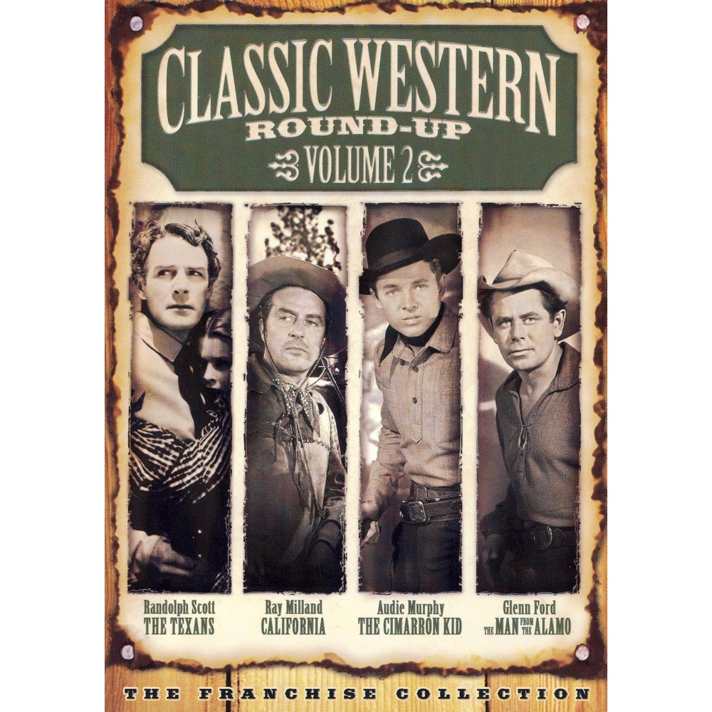 Classic Western Round Up Vol 2 (Dvd)