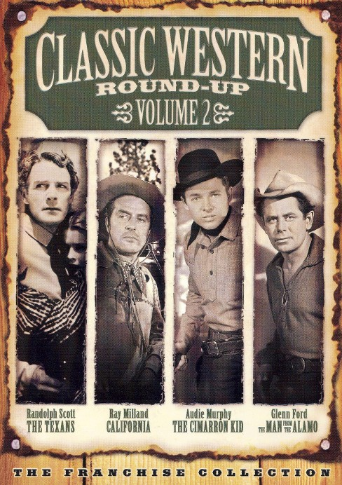 Classic western round up vol 2 (DVD) - image 1 of 1