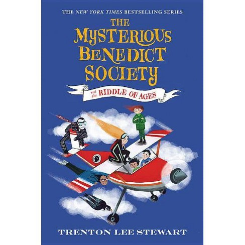 The Mysterious Benedict Society and the Riddle of Ages - by  Trenton Lee Stewart (Hardcover) - image 1 of 1