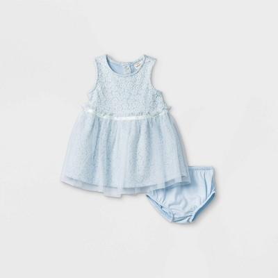 Baby Girls' Knit Elevated Tutu Dress - Cat & Jack™ Blue