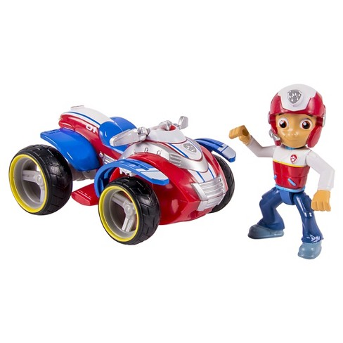 Paw Patrol Ryder's Rescue ATV Vechicle and Figure - image 1 of 3
