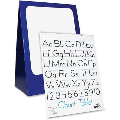 """Flipside Spiral-Bound Chart Stand 24""""x33""""x14"""" Blue/White 30503"""