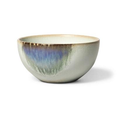 10.5 fl oz Distressed Ceramic Mini Bowl Neutral/Blue - Levi's® x Target