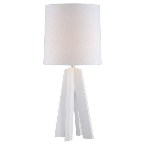 Kitoko Table Lamp White (Includes Energy Efficient Light Bulb) - Lite Source - image 1 of 3