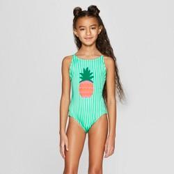 44cb18538a458 Girls' Flip Sequins Flamingo Frenzy One Piece Swimsuit - Cat & Jack ...