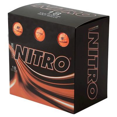 Golf Ball Nitro Golf 18 ea Orange