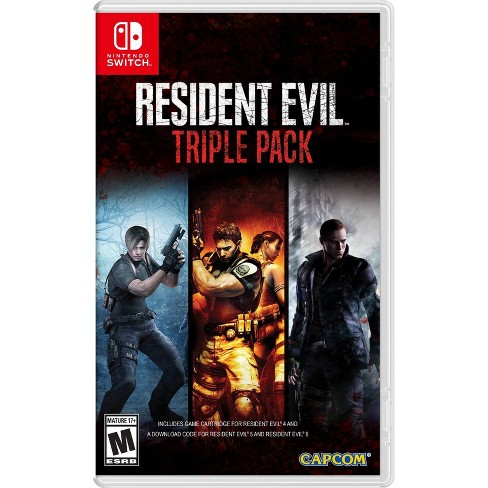 Resident Evil: Triple Pack - Nintendo Switch - image 1 of 4