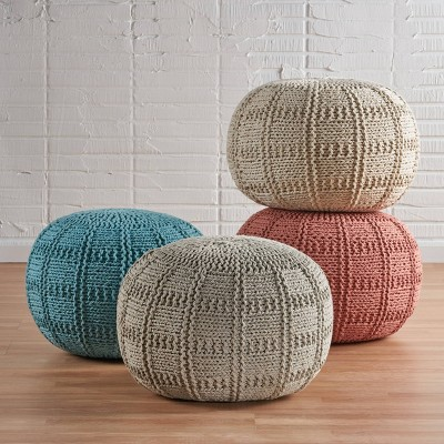 Yuny Pouf Ottoman - Christopher Knight Home : Target