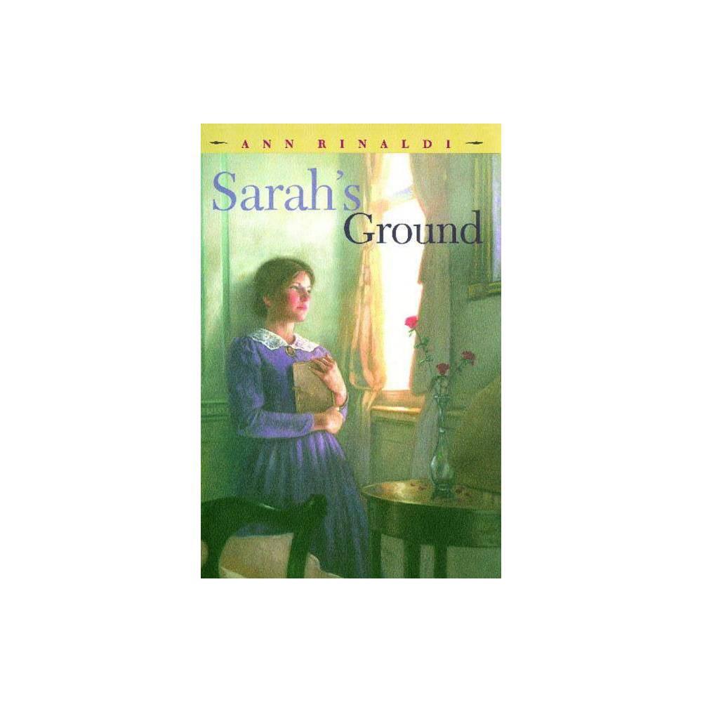 Sarah S Ground By Ann Rinaldi Paperback