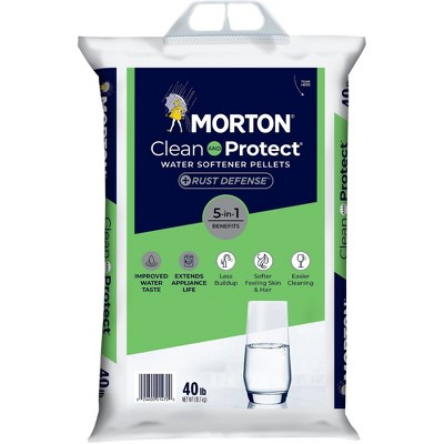 Clean and Protect Plus Rust Defense Water Softener Pellets - 40lbs - Morton