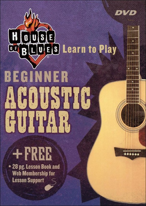 Learn to play acoustic guitar beginne (DVD) - image 1 of 1
