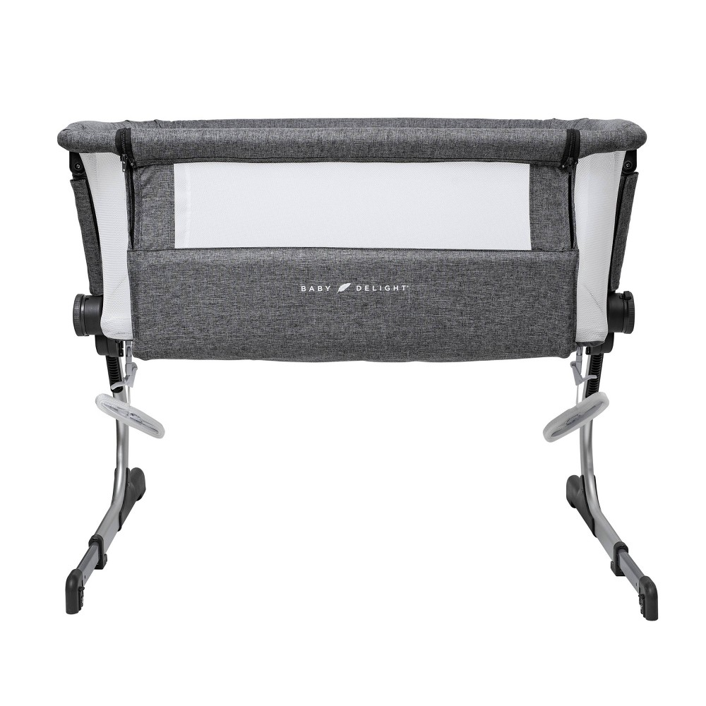Image of Baby Delight Beside Me Dreamer Bassinet and Bedside Sleeper, Gray