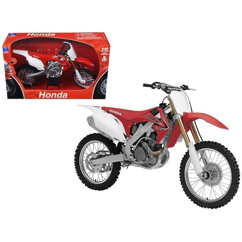2012 Honda CR 250R Red 1/12 Diecast Motorcycle Model by New Ray - image 1 of 1