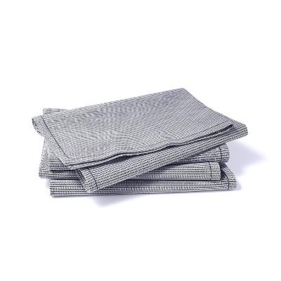 4pk Striped Cotton Napkin Set White/Navy - Levi's® x Target