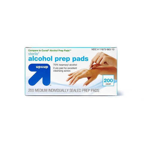 Alcohol Swabs - 200ct - up & up™ - image 1 of 3
