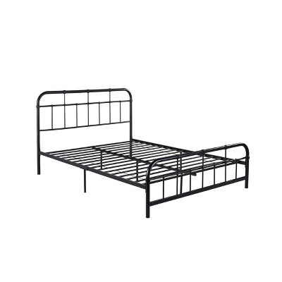 Queen Berthoud Industrial Iron Bed - Christopher Knight Home