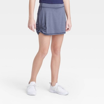 Girls' Knit Ruched Performance Skorts - All in Motion™