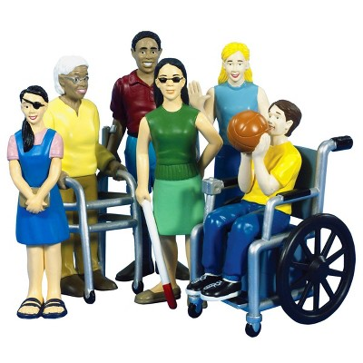 "Creative Minds Friends With Diverse Abilities 5"" Figures - Set of 6"