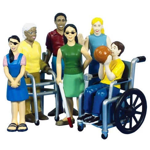 Creative Minds Friends With Diverse Abilities - Set of 6 - image 1 of 3