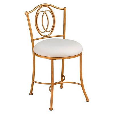 Emerson Accent Stool Bronze - Hillsdale Furniture
