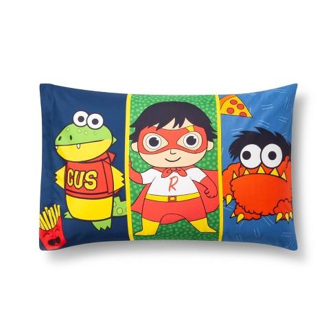Ryan's World Twin Pillowcase - image 1 of 3
