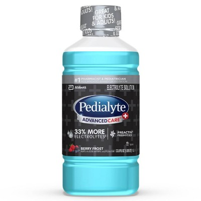 Pedialyte AdvancedCare Plus Electrolyte Solution - Berry Frost - 1 L