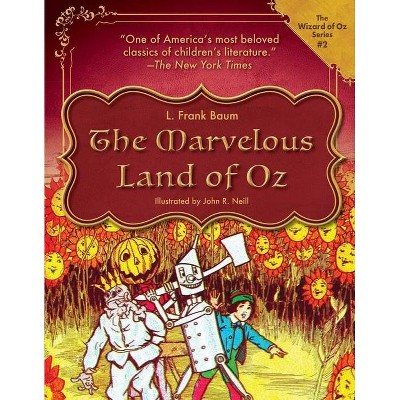 The Marvelous Land of Oz, Volume 2 - (Wizard of Oz) by  L Frank Baum (Hardcover)