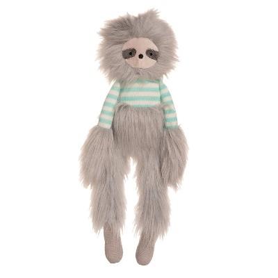 "Manhattan Toy Luxe Twiggies Sullivan 16.5"" Sloth Stuffed Animal"