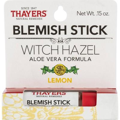 Thayers Witch Hazel Blemish Lemon Facial Stick - 0.23 fl oz
