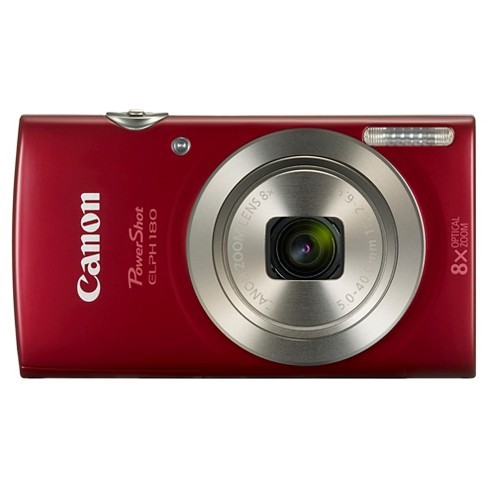 Canon PowerShot ELPH180 Camera - Red (1096C001) - image 1 of 8