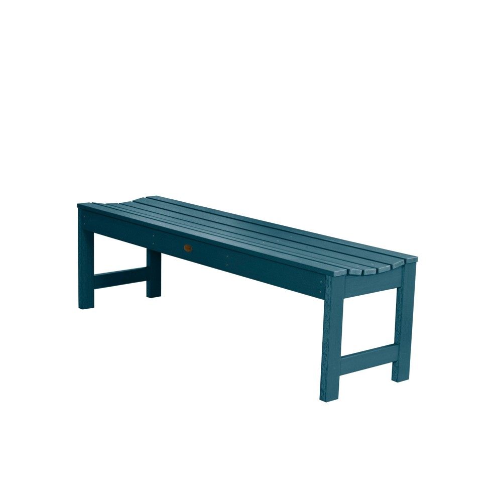 Lehigh Picnic Bench 4ft Nantucket Blue - Highwood