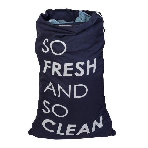 Laundry Bags Navy Honey-Can-Do - image 1 of 4