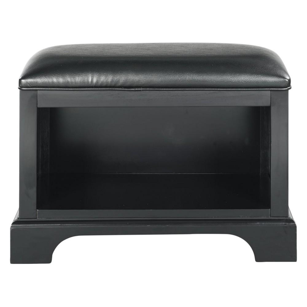 Bedford Bench - Satin Black - Home Styles