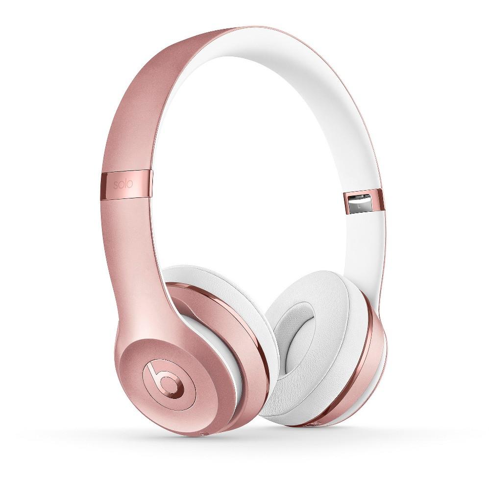 Beats Solo3 Wireless Headphone, Rose Gold