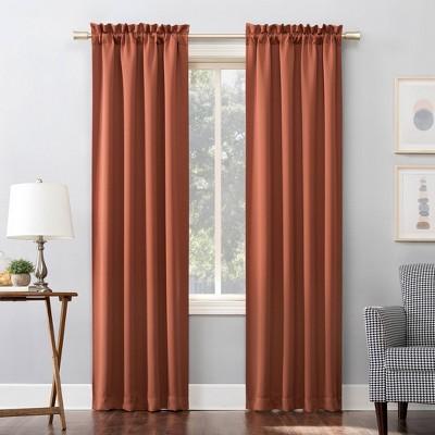 Kenneth Energy Saving Blackout Rod Pocket Curtain Panel - Sun Zero