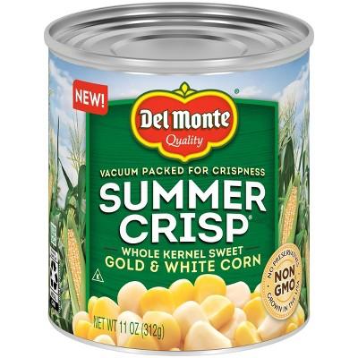 Del Monte Summer Crisp Gold & White Corn - 11oz