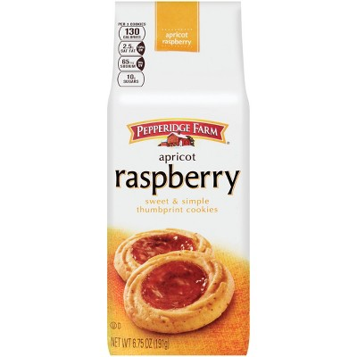 Pepperidge Farm Apricot Raspberry Thumbprint Cookies - 6.75oz