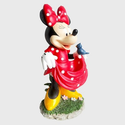 "Disney Minnie Mouse 22"" Birdbath Resin Statue"