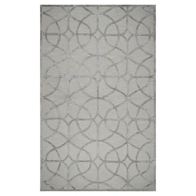 Monroe Geometric Trellis Circle/Diamond Rug - Rizzy Home
