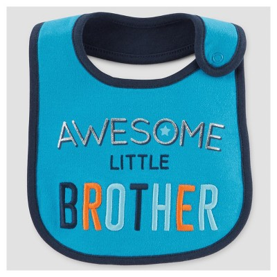 Baby Boys' Brother Bib - Just One You™ Made by Carter's® Turquoise