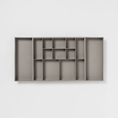Expandable Drawer Organizer Gray - Room Essentials™