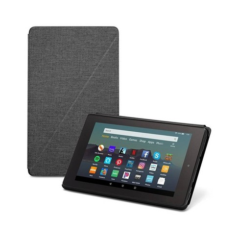 Amazon Fire 7 Tablet Case - Compatible with 9th Generation - Charcoal - image 1 of 4