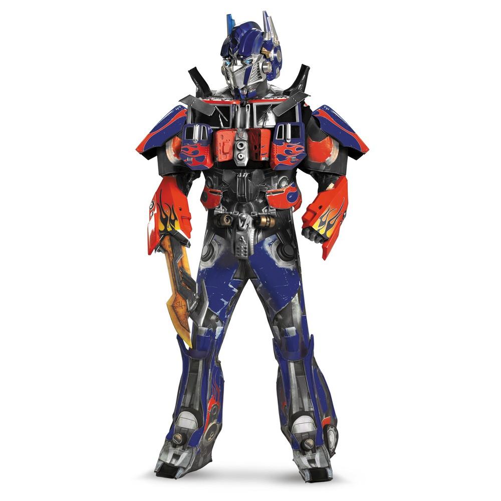 Image of Halloween Adult Optimus Prime Costume XL(42-46), Men's, MultiColored