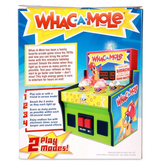 Whac-a-Mole Electronic Game image number null