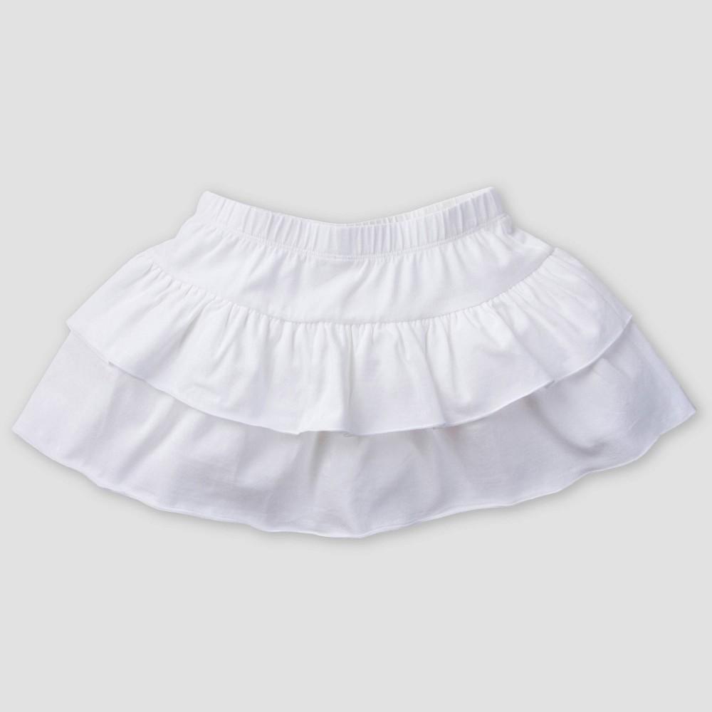 Gerber Baby Girls' Skort - White 24M
