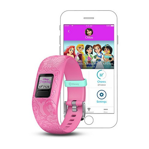 Garmin vvofit jr. 2 Disney Princess Kids Fitness Tracker - Pink - image 1 of 4