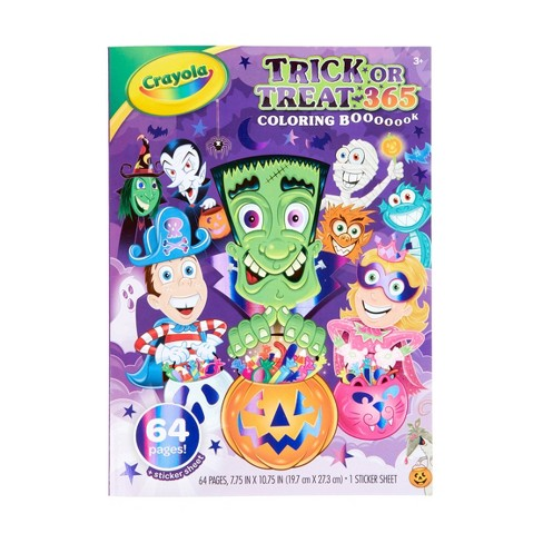 Crayola Trick or Treat Coloring Book - image 1 of 4