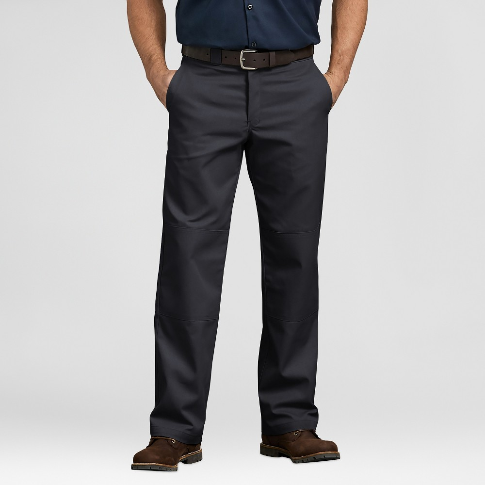Dickies Men's Relaxed Classic Straight Fit Trousers - Black 34x30